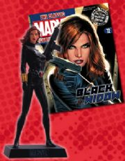 Classic Marvel Figurine Collection #072 Black Widow Eaglemoss Publications